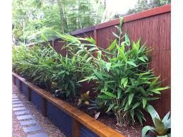 timber sleeper and corrugated steel retaining wall - Google Search