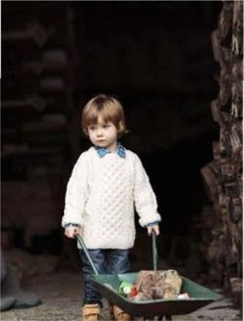 Children's Aran Sweater, $69.95