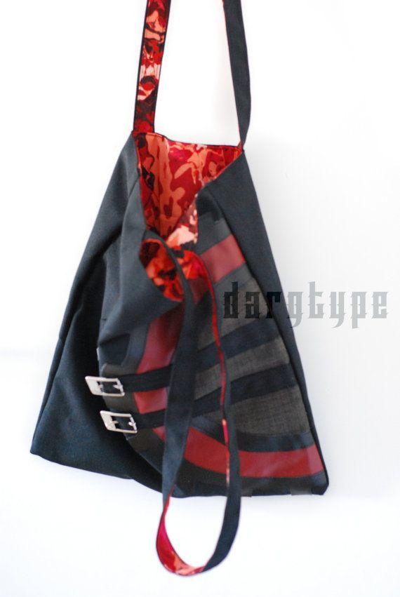 rackwheel bag by Dargtype on Etsy