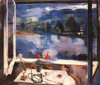 Bernáth Aurél: Reggel I. (1927-1928)
