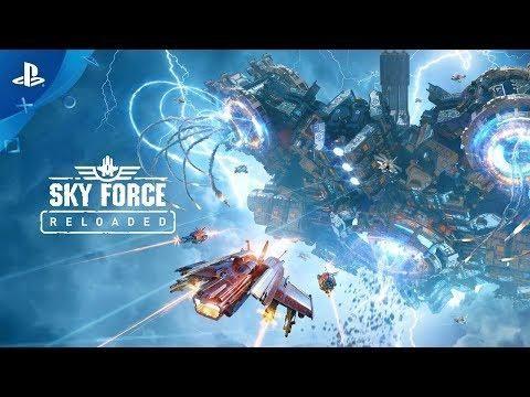 Sky Force Reloaded Reveal Trailer App hack, Games