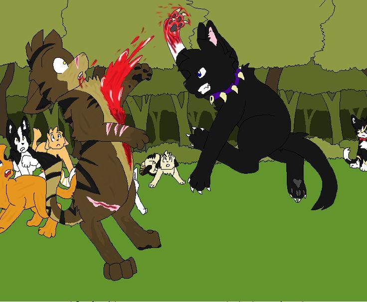 Scourge Vs Tigerstar Warrior Cats Fandoms Cats
