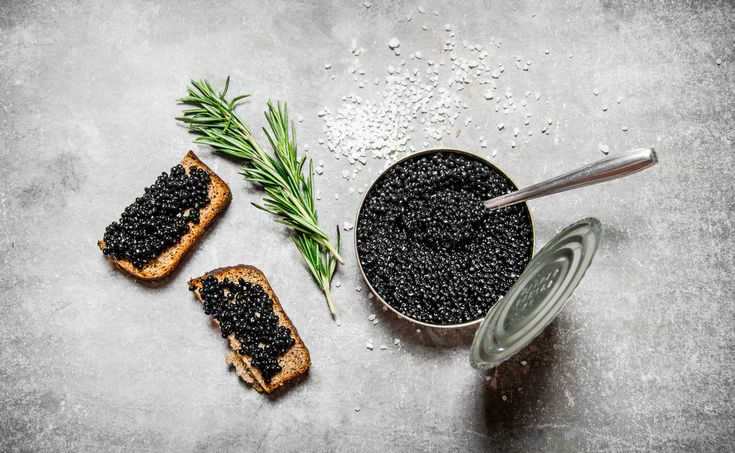 Explore the flavor profile of Russian Osetra caviar, one of the most desired of all caviars, prized for its rich flavor and texture. #caviar
