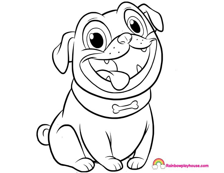 Puppy Dog Pals Rolly Printable