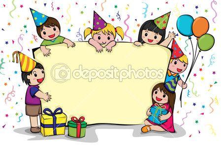 Pozvánka narozeninový večírek — Stock Vektor © artisticco #8182027