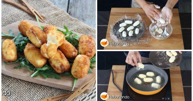 ¡Irresistibles croquetas de queso KIRI fundido!
