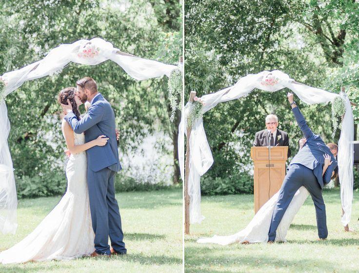 wedding kiss | wedding kiss with fist pump  | wedding ceremony | i do | kiss | wedding moments | happy moments | wedding photography |