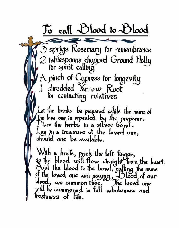 Book Of Shadows Spells - Bing Images