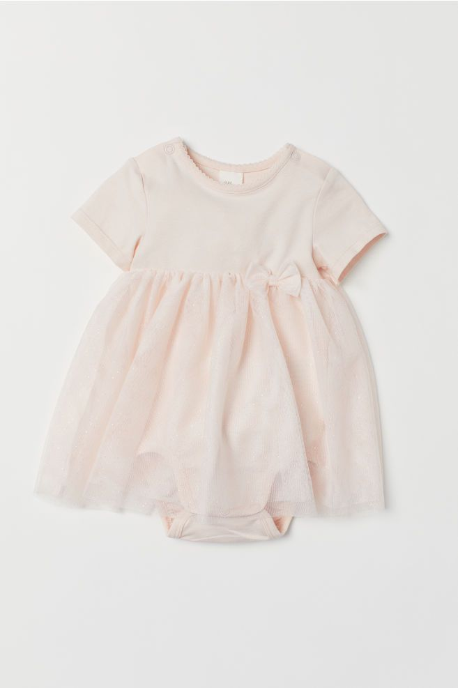 235c0d44cd2a H&M Tulle Dress with Bodysuit - Pink | Baby Girl's Closet! | Tulle ...