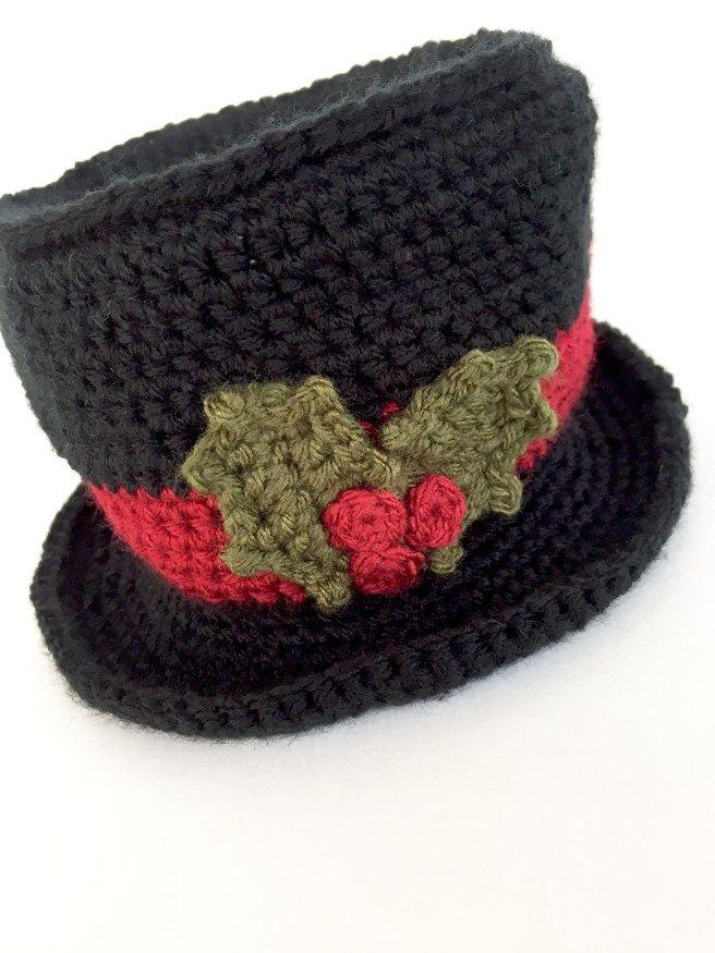 Snowman Top Hat {FREE PATTERN}