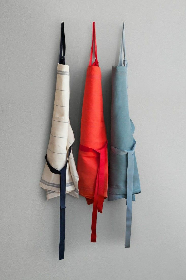 White tea apron - Falcon Fabricware Aprons Core Colors Of Blue Red And White With Blue Stripe