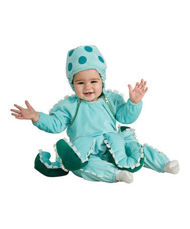 Another great find on #zulily! Blue Octopus Dress-Up Set - Infant #zulilyfinds