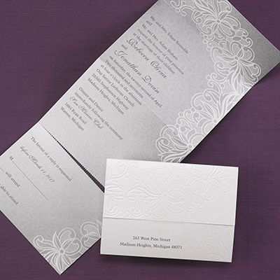 Luxurious Lace   Seal U0027n Send   Wedding Invitation Ideas   Wedding Invites    Wedding