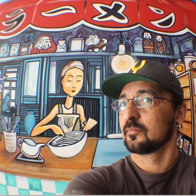 Selfie ramen @ramenbreak best ramen in town #bybug