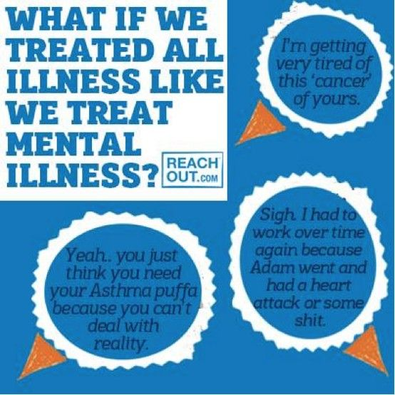 One of the best graphics I've come across re: mental health and stigma in a while. Found via a group called BPD Friends Australia.