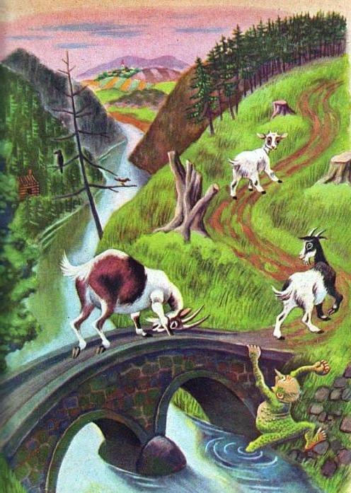 """Three Billy Goats Gruff"" 