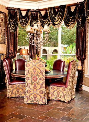 Kitchen Dining Draperies 348x480