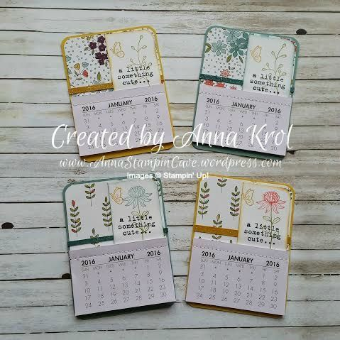 Wildflower Fields Fridge Mini Calendars