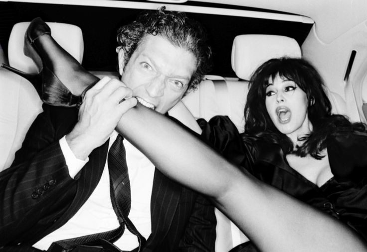 Vincent Cassel & Monica Belluci by Ellen von Unwerth