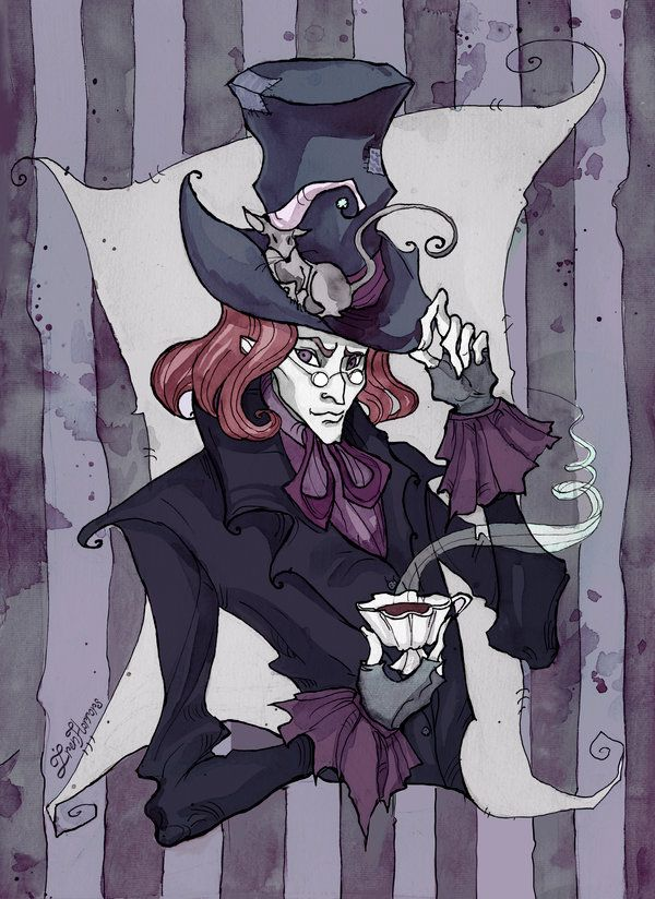 The Mad Hatter portrait by IrenHorrors on DeviantArt