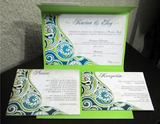 Invitaciones/Invitations  (Boda/Wedding)  Design by: Yil Siritt