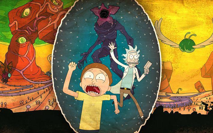 Lataa kuva Rick Ja Morty, 3d-animaatio, art, 2017 elokuva