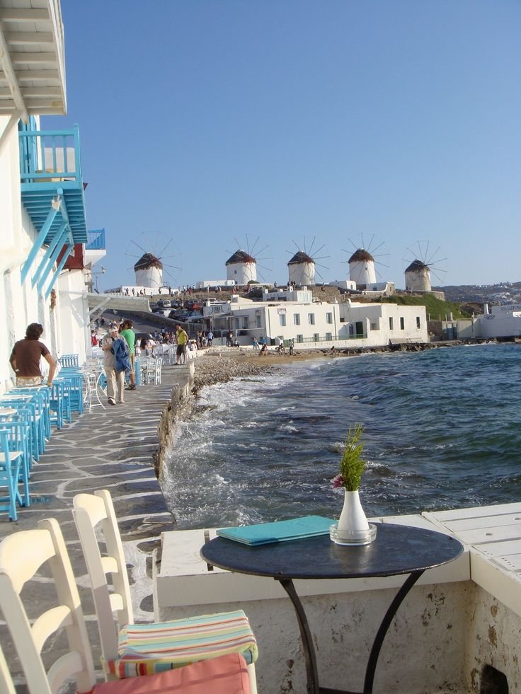 What a way to start the day... Mykonos <3