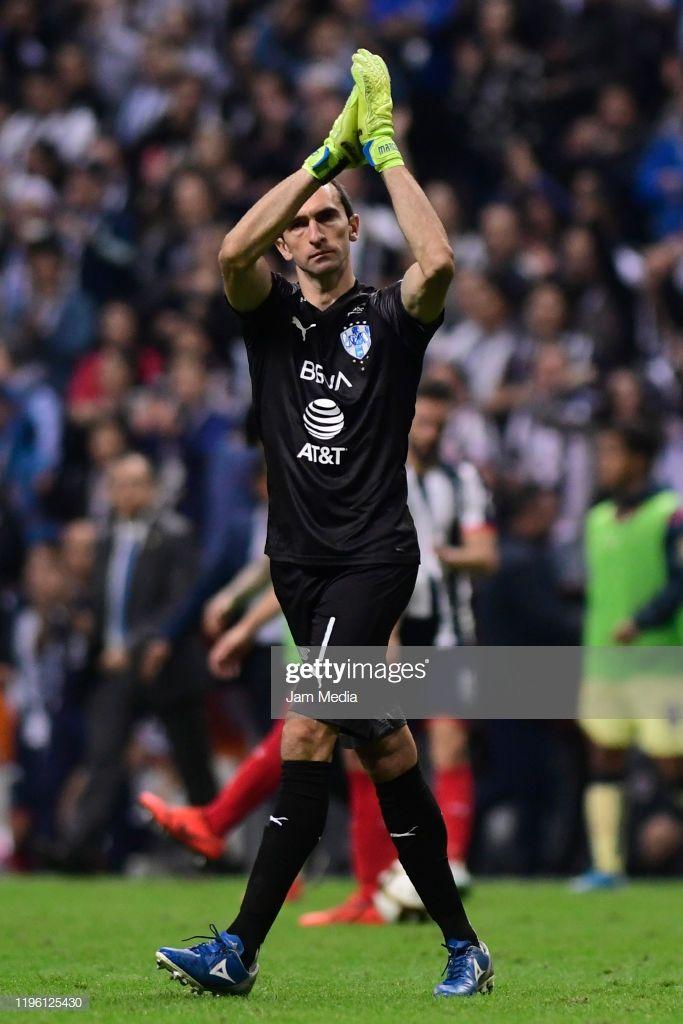 Marcelo Barovero Goalkeeper Of Monterrey Celebrates During The Final Goalkeeper Soccer Goal Monterrey