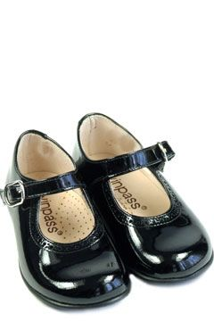 Patent leather party shoes
