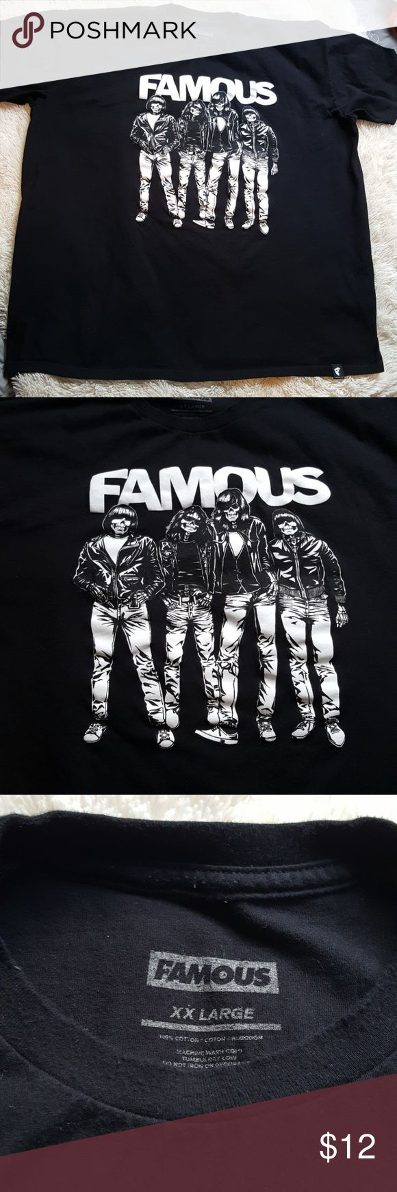 Famous stars and straps BLITZKRIEG t-shirt - XXL Gently used. In good condition. No damages. Famous Stars & Straps Shirts Tees - Short Sleeve