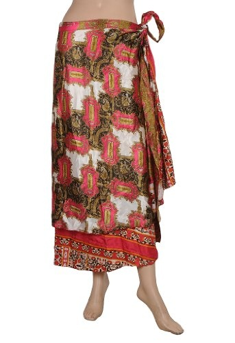 Boho Gypsy Indian Dress Recycled Printed Sari « Dress Adds Everyday