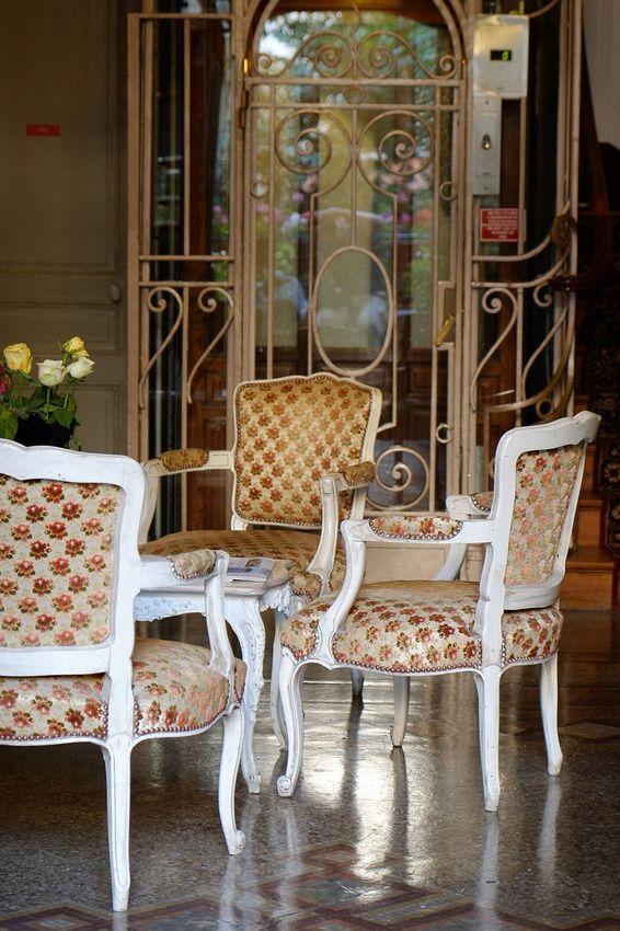 Hotellobby in Reims