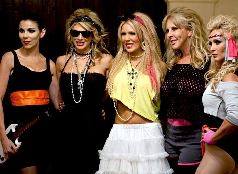 OC Housewives Rockin The 80s At Their BUNCO Party