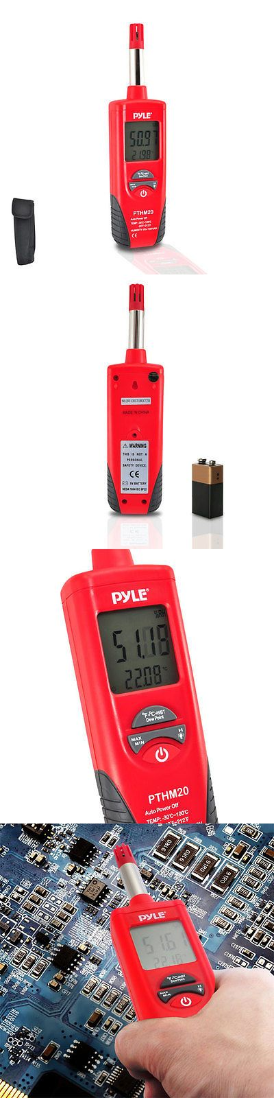 Weather Meters: New Pthm20 Temperature And Humidity Meter With Dew Point And Wet Bulb Temperature BUY IT NOW ONLY: $49.99