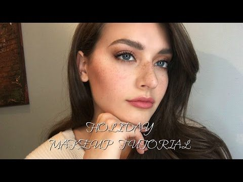 Holiday Party Makeup Tutorial | Jessica Clements - YouTube