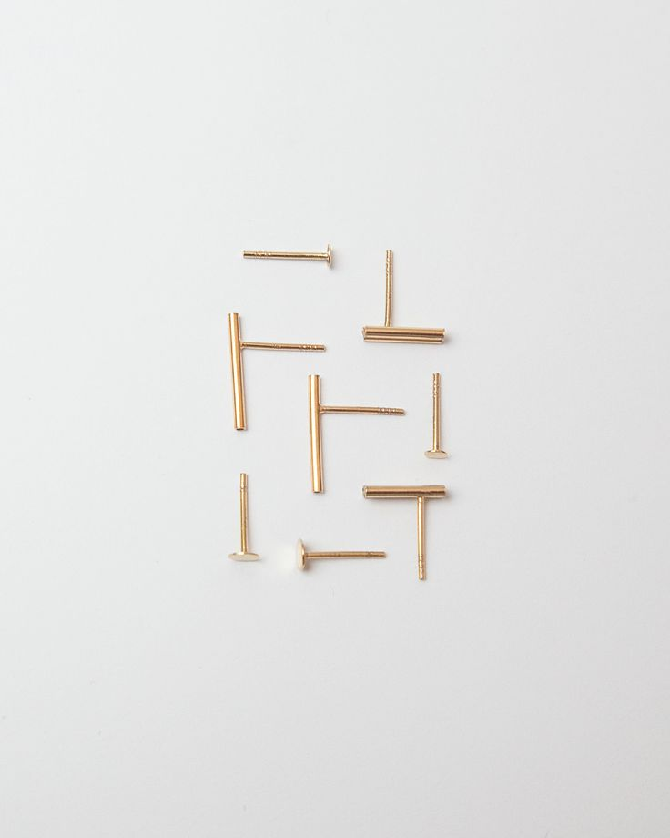 basic collection minimal earrings