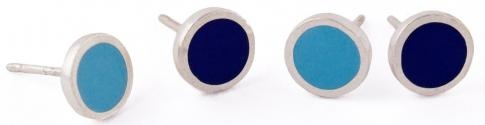 Senna Stud Earrings: Bands Rings, Band Rings
