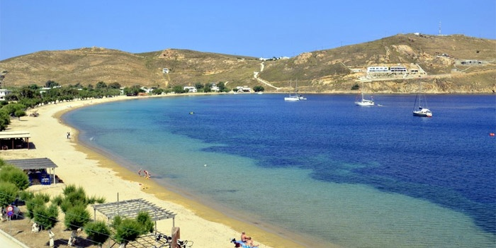 Livadi Beach in Serifos Island, Greece