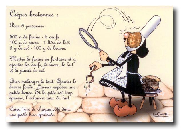 Recette des crêpes bretonnes