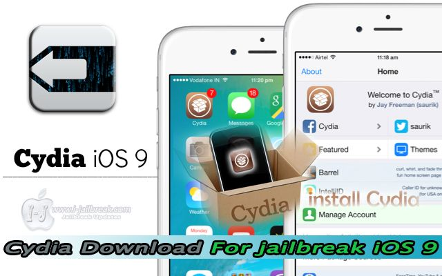 Cydia Download For jailbreak iOS 9