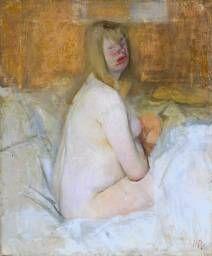 Victor Pasmore 'Nude', 1941 © Tate