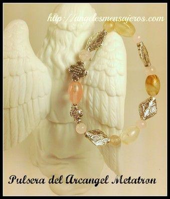 Angel bracelet. Pulsera del Arcangel metatron-pulsera de los 15 arcangeles-pulsera de sanacion con los arcangeles-figuras de angeles-productos de angeles-estatuillas de angeles-accesorios de angeles