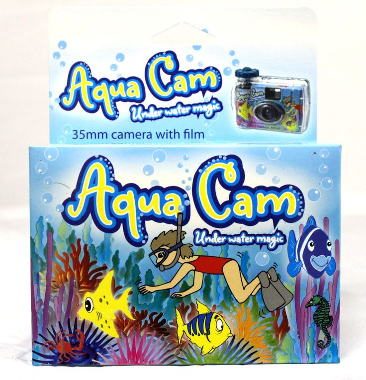 2 WATERPROOF UNDERWATER ONE SINGLE TIME USE DISPOSABLE AQUA CAM CAMERA 1/2017