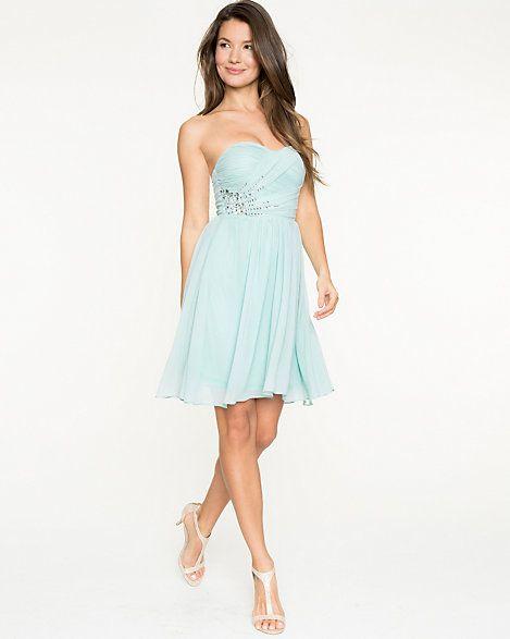 Jewelled Crêpe Chiffon Dress