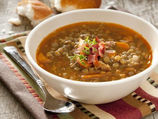 Soupe mexicaine aux lentilles - Recette de cuisine Marmiton : une recette
