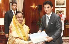 Sajid Nadiadwala meets Pratibha Patil
