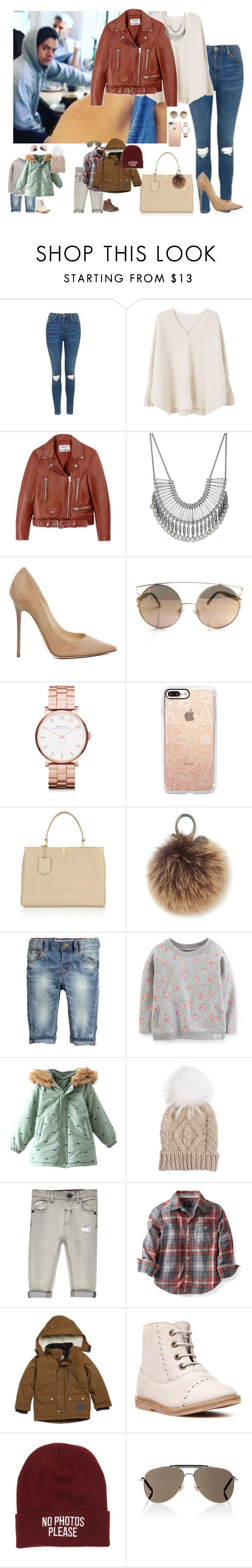 """""""Sin título #1221"""" by wiki0622 ❤ liked on Polyvore featuring Topshop, MANGO, Acne Studios, Lucky Brand, Jimmy Choo, Marc by Marc Jacobs, Casetify, Balenciaga, Rebecca Minkoff and Yves Salomon"""