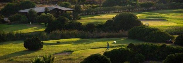 Il campo da golf al Chia Laguna Resort