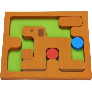 Пятнашки (собака),Игрушки,Поделки из бумаги,головоломка,собака,собака,игра,собака,Мяч