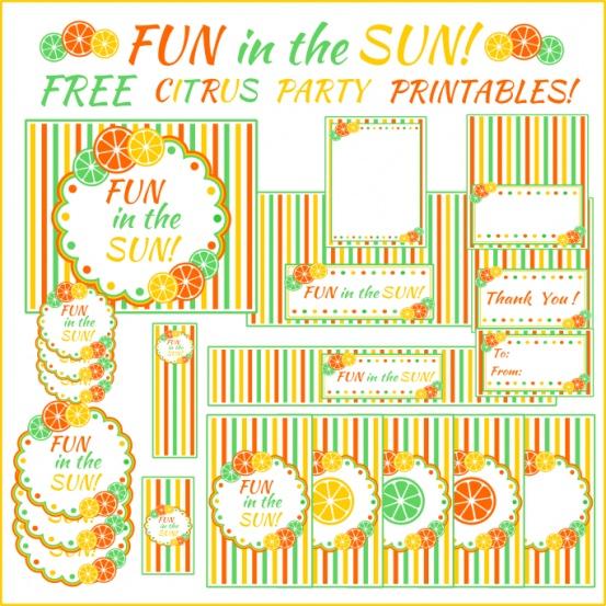 Fun in the Sun freebies